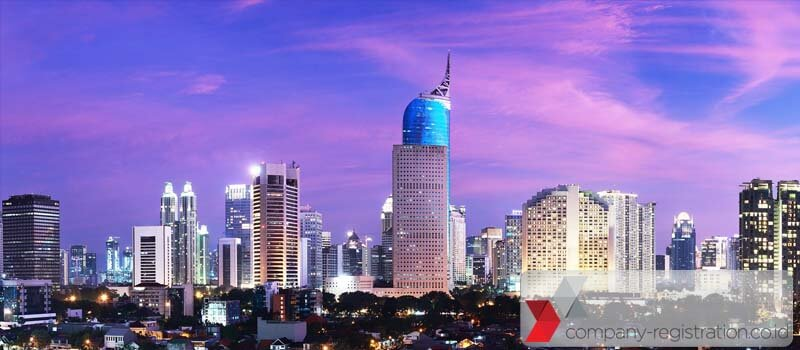 Company address in Indonesia